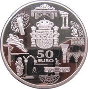50 Euro - Juan Carlos I (Euro Introduction) -  reverse