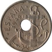 50 Centimos (Anchor; Arrows up) -  obverse