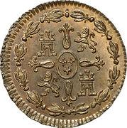 1 Maravedi - Carlos III – reverse