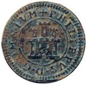 2 Maravedis - Felipe II (Segovia,milled) – obverse