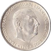 100 Pesetas - Francisco Franco -  obverse
