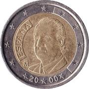 2 Euro - Juan Carlos I (1st type - 1st map) -  obverse