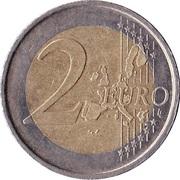 2 Euro - Juan Carlos I (1st type - 1st map) -  reverse