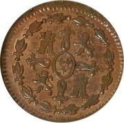 1 Maravedi - Carlos IV (Segovia) – reverse