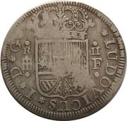 2 Reales - Luis I (Segovia) – obverse