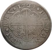 2 Reales - Luis I (Segovia) – reverse