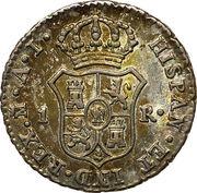 1 Real de vellon - Jose I Bonaparte – reverse