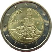 2 Euro (Park Güell) -  obverse