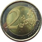 2 Euro (Park Güell) -  reverse