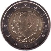 2 Euro - Felipe VI (Accession to Spanish Throne) -  obverse