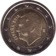 2 Euro - Felipe VI -  obverse