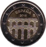 2 Euro (Aqueduct of Segovia) -  obverse