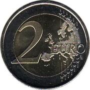 2 Euro (Aqueduct of Segovia) -  reverse