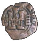4 Maravedis - Felipe III (hammered) – obverse