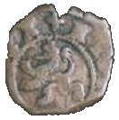 4 Maravedis - Felipe III (hammered) – reverse