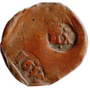 12 Maravedis - Felipe IV (countermark) – obverse