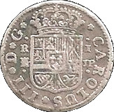 1 Real - Carlos III (1st type) – obverse