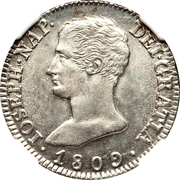 4 Reales de vellon - Jose I Bonaparte – obverse
