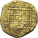 4 Escudos - Felipe II – obverse