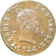 1 Maravedi - Fernando VII (Jubia) – obverse