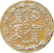 1 Maravedi - Fernando VII (Jubia) – reverse