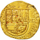 2 Escudos - Felipe II – obverse
