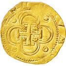 2 Escudos - Felipe II – reverse