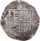 8 Reales - Felipe II (Seville) – obverse