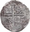 8 Reales - Felipe II (Seville) – reverse