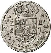 2 Reales - Luis I (Seville) – obverse
