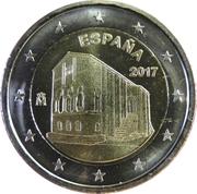 2 Euro (Churches of the Kingdom of Asturias) -  obverse