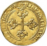 1 Escudo - Carlos I – reverse