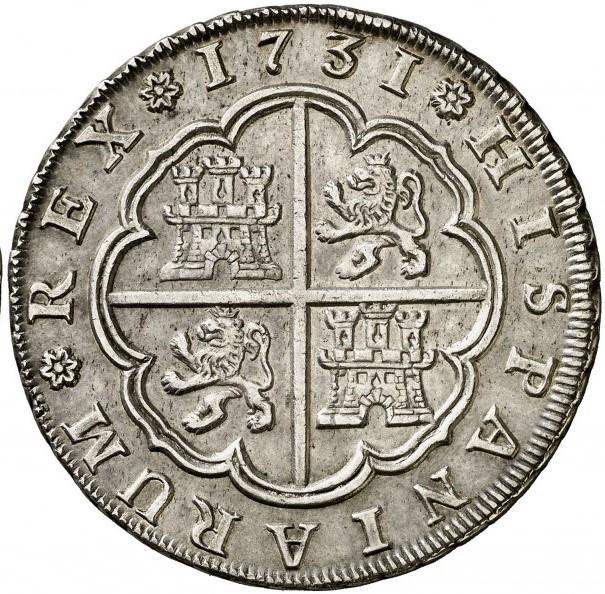 hispaniarum rex 1701 coin