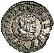 8 Maravedis - Felipe IV (Segovia,billon milled) – obverse