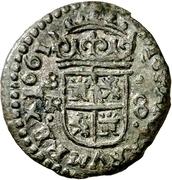 8 Maravedis - Felipe IV (Seville,billon) – reverse
