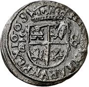 8 Maravedis - Felipe IV (Coruna) – reverse