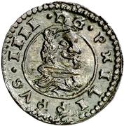 8 Maravedis - Felipe IV (billon) – obverse