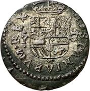 16 Maravedis - Felipe IV (large bust) – reverse