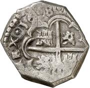 2 Reales - Felipe IV (arms) -  obverse