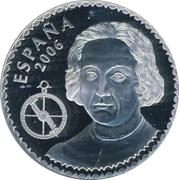 10 Euro - Juan Carlos I (Columbus - La Pinta) -  obverse
