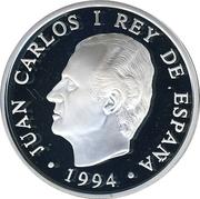 2000 Pesetas - Juan Carlos I (Doñana National Park) -  obverse