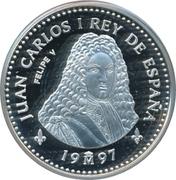 2000 Pesetas - Juan Carlos I (Felipe V) -  obverse