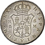 8 Reales - Carlos III -  obverse