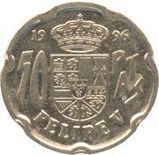 50 Pesetas (Felipe V) -  reverse