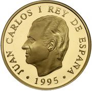 80 000 Pesetas - Juan Carlos I (Leda Atomica) – obverse