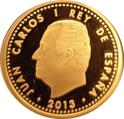 100 Euro - Juan Carlos I (Granada) -  obverse