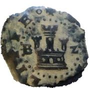 2 Maravedis - Felipe II (high grade billon) – obverse