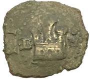 2 Maravedis - Felipe II (Burgos,low grade billon) – obverse