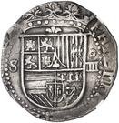 4 Reales - Felipe II (Seville) – obverse