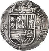 4 Reales - Felipe II (Seville) -  obverse